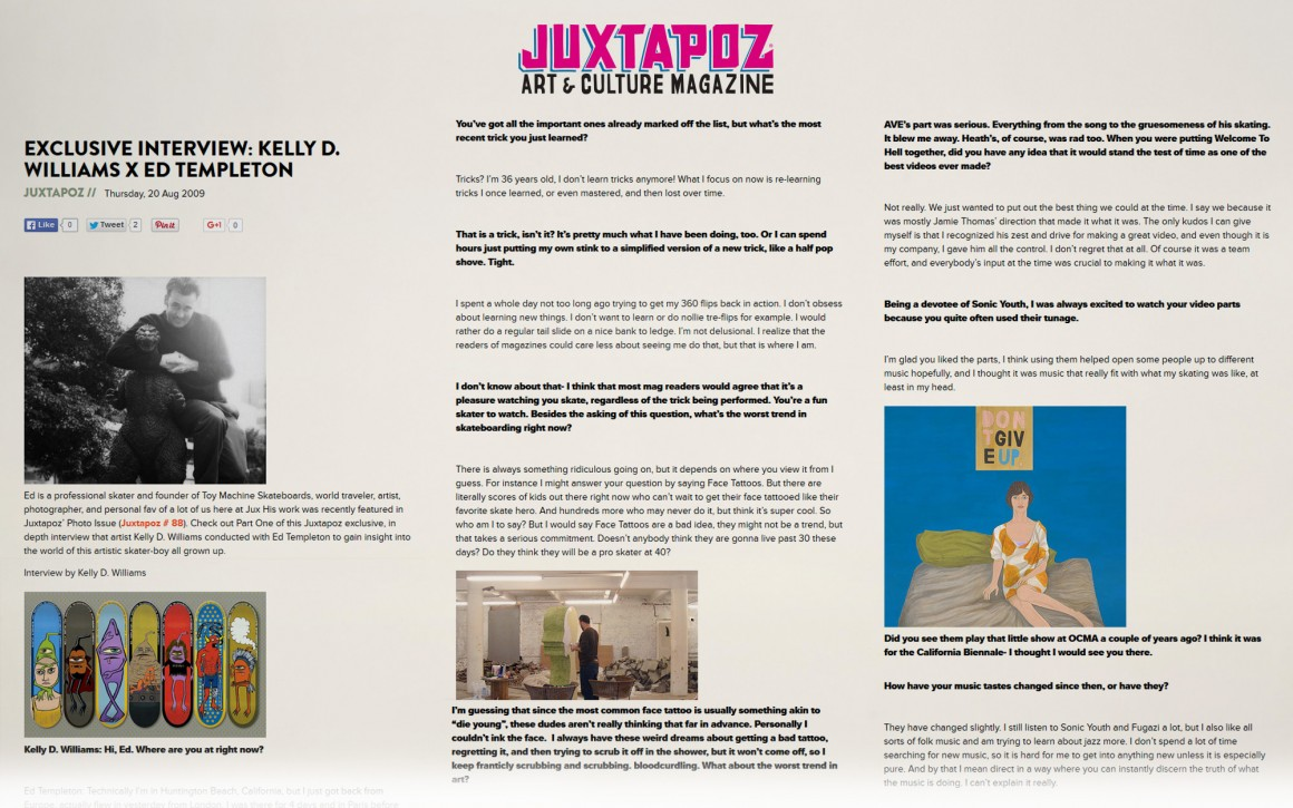 juxtapoz-ed-templeton-interview-page-one